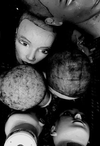 Spooky Spooky Atmosphere Mystery Dummy Dummies Dummy Photos Dummy Heads Dummy Doll Dummys Dolls Doll Photography Doll Face HEAD Flea Market Fleamarket Flea Markets Flea Market Finds Brocante Bw Blackandwhite Black And White Black & White Close-up Still Life Full Frame