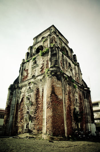 Sinking Bell Tower - Laoag Ilocos Architecture Bell Tower Building Exterior Built Structure History Laoag Old Ruin Sinking Bell Tower The Past Travel Destinations