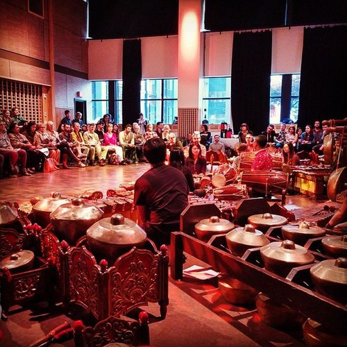 Beautiful Gamelan performance at SFU last night. Gamelan Javanese Orchestra Indonesianmusic Indonesian Hauntingmusic Dowtowneastside Dtes Vancitybuzz Vancouver Vancouverisawesome SFU