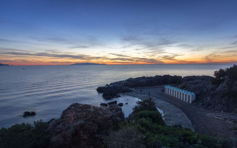 Bagno delle donne Beach Cloud - Sky HDR Horizon Over Water Landscape Maremma Romantic Sky Scenics Sunset Talamone Tirreno Tourism