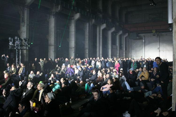 Kraftwerk Berlin Light Event Crowd Audience Arts Culture And Entertainment Factory Stage Light