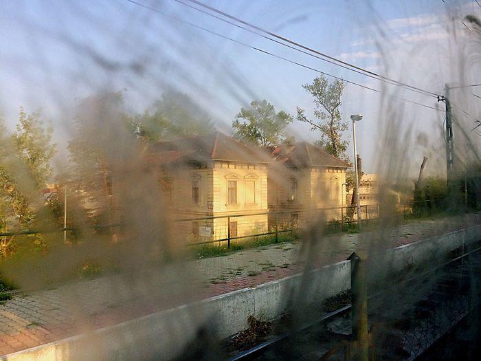 Budapest Hungary HÉV Szabadkikötő Building Railway