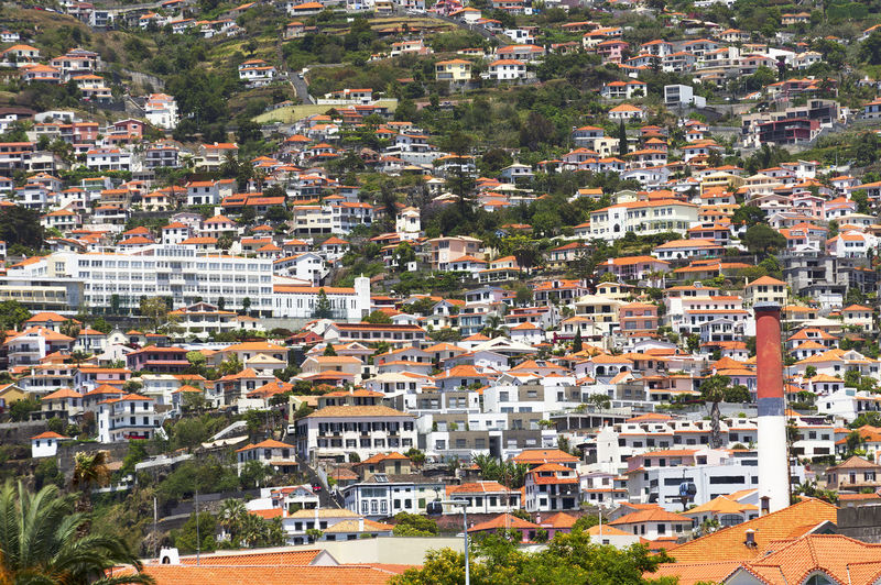 Architecture Atlantic Europe Funchal Island Madeira Portugal Tourism Touristic