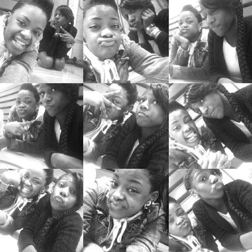 - me & my sissy ! <3 .