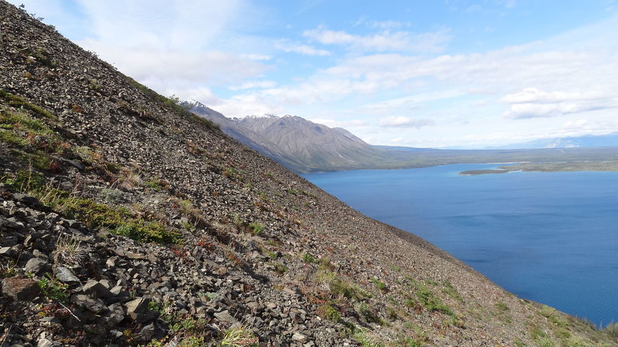 Beauty In Nature Canada Day Kathleen Lake King's Throne Kluane National Park & Reserve Landscape Mountain Nature No People Outdoors Scenics Sky Tranquil Scene Tranquility Water Yukon