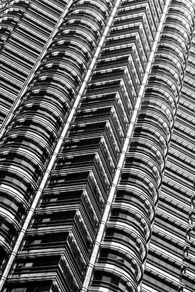 Architecture Details Architecture_bw Canon350D EyeEm Best Shots - Black + White Facades Façade Geometry Height Monochromatic Monochrome Monochrome _ Collection Pattern Pattern Pieces Patterns Patterns & Textures Patterns Everywhere Petronas Petronas Twin Towers Petronastowers Petronastwintowers Skyscraper Skyscrapers Traveling In Malaysia Traveling Malaysia Windows