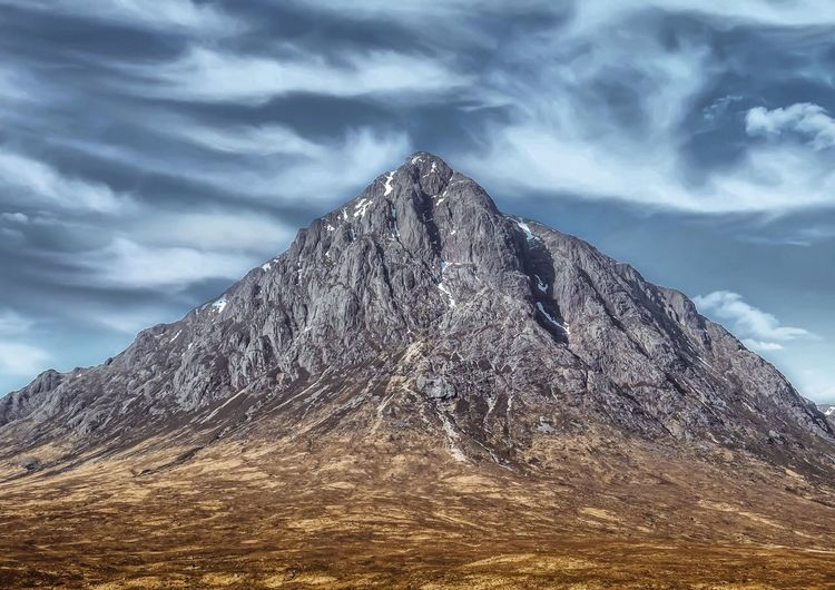 The Buachaille in the Highlands of Scotlan Ice Climbing Mountain Peak Mountain Glencoe Scotland Glencoe Buachaille Etive Buachaille Buachaille Etive Mor Scotland Outdoors Plant Land Architecture Tree Pyramid Shape Mountain Tranquility Pattern Scenics - Nature Built Structure Non-urban Scene Mountain Peak