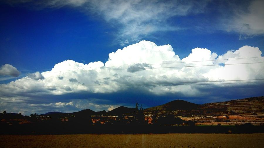 Oaxaca México Paisaje Sky Cielo Azul