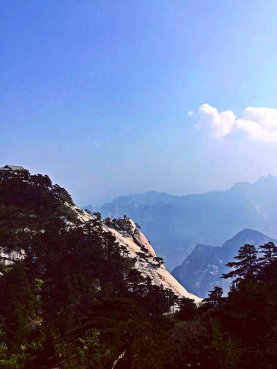 Traveling Travel Photography Enjoying Life Colorsplash From My Point Of View Taking Photos Huasha Mountain China