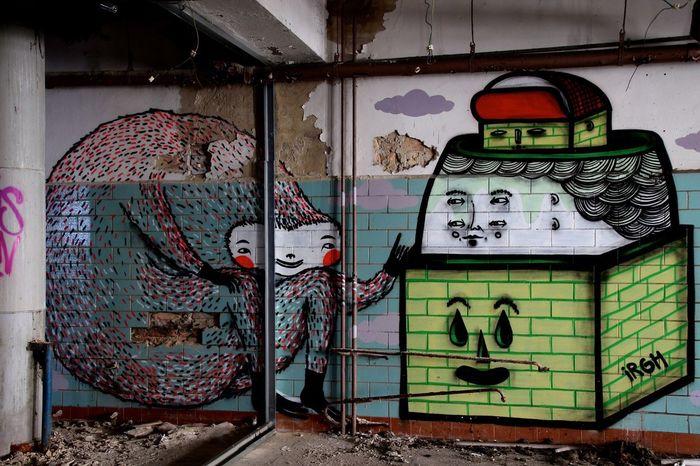 Graffiti Fleischfabrik Berlin Berlin Streetart EyeEm Best Edits