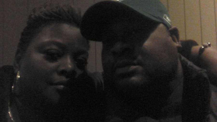 me and my boo hanging