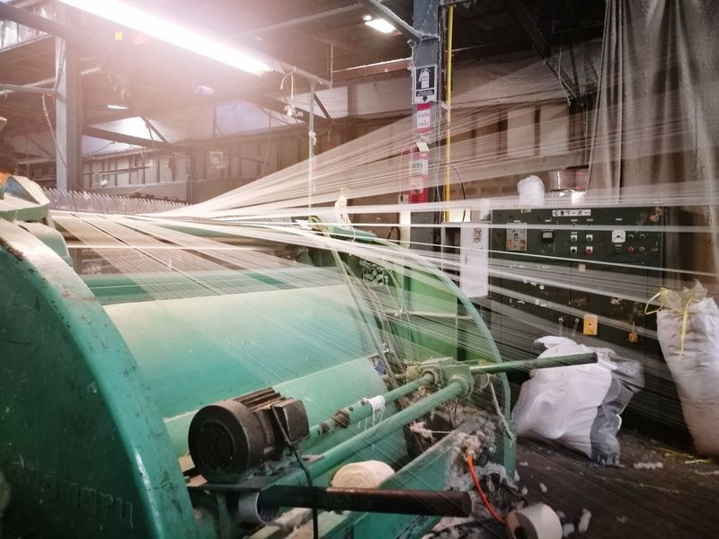 Factory Manufacturing Equipment Textile Machinery Textile Production Factory Photo Textiles