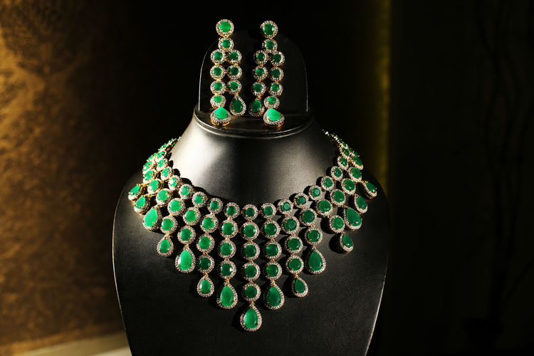 Ladies Jewellery Close-up Day Fashion Green Color Green Gemstone Indoors  Jewellery Jewellery Photoshoot Jewelry Jewelry Store No People