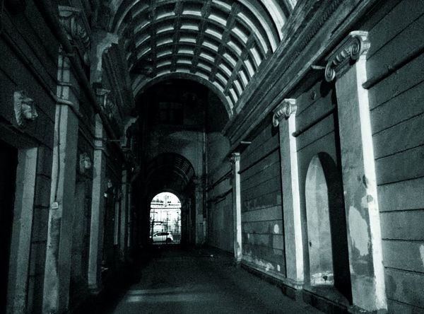 Arch Indoors  Architecture The Way Forward Built Structure Corridor History Day No People Night Streetphotography Street