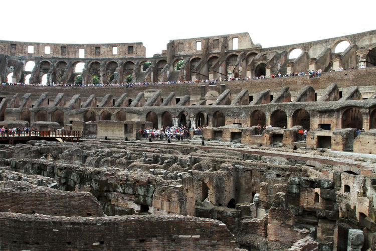 Amphitheater Ancient Ancient Civilization Arch Archaeology Architecture Arts Culture And Entertainment Building Exterior Built Structure Colosseum Group Of People History Incidental People Large Group Of People Old Ruin Outdoors Real People Ruined Sky The Past Tourism Travel Travel Destinations