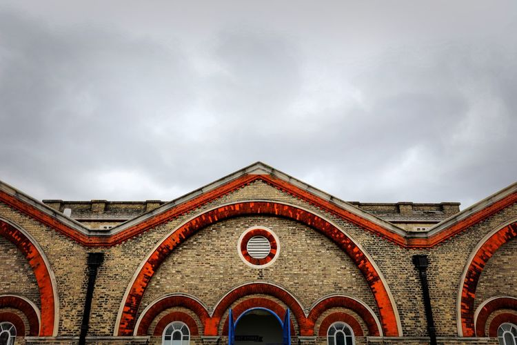 Crossness Pumping Station Architecture Built Structure Arch Building Exterior Sky Cloud - Sky No People