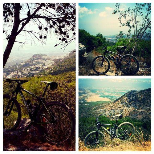 Naturen i Andalucía er noe av det jeg vil savne mest når jeg flytter hjem. To ganger over Montesdemijas idag. MTB Bikeinspain Mijas mountainsofandalucia costadelsol natur