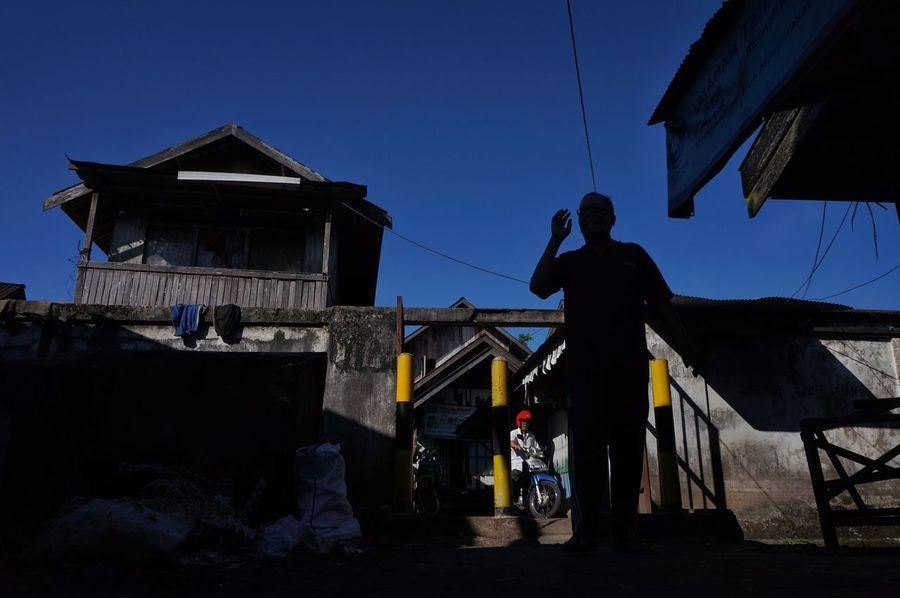 Barabai 2017The Street Photographer - 2017 EyeEm Awards Silhouette One Person People Sky Outdoors Street Photography Streetphoto_color Streetphotographer at Barabai South Kalimantan INDONESIA