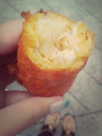 Fried Durian