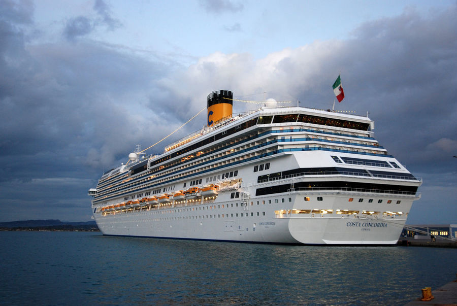 Costa Concordia, God Bless their Souls Beauty In Nature Cloud - Sky Cloudy Sky ☁️ Costa Concordia Cruise Ship Day Large Ship Mediterranean Sea Nature Nautical Vessel No People Outdoors Sea Sky Water