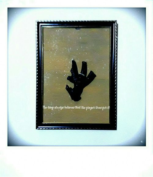 The ring always believes that the finger lives for it!!! Art Is Everywhere Fingerring Wood Art Picture Photography Photo Photooftheday Ring Wood Picture Frame Frame