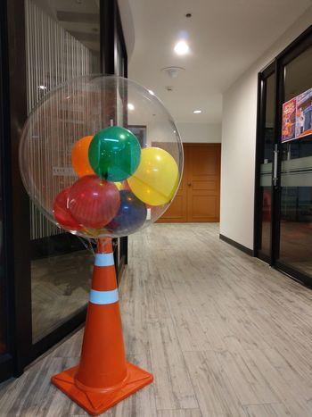 balloon in balloon Day Indoors  Balloon Multi Colored