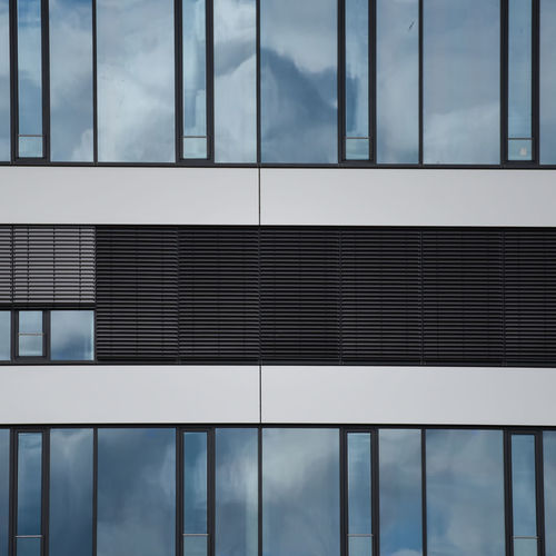 Architecture Building Exterior Built Structure City Close-up Cloud - Sky Day Full Frame Hoffi99 Modern No People Outdoors Refelctions Reflection Window Sky Window