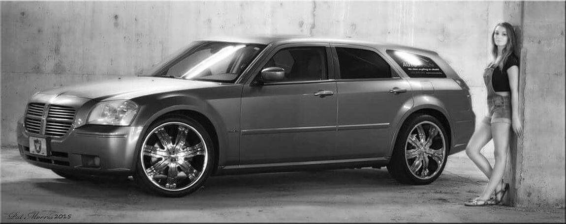 Dodge Magnum Magnumphotos Black & White Cars Model Shoot Car Model