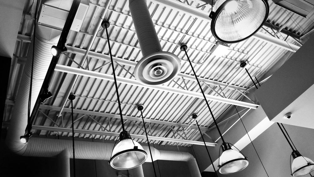 Light, it's art! Low Angle View Hanging Indoors  Built Structure Architecture No People Technology Day Clock Minute Hand Business Finance And Industry EyeEm Illuminated EyeEm Gallery Photography Contrast Of Shadows Architecture Light Up Your Life Enjoy The New Normal
