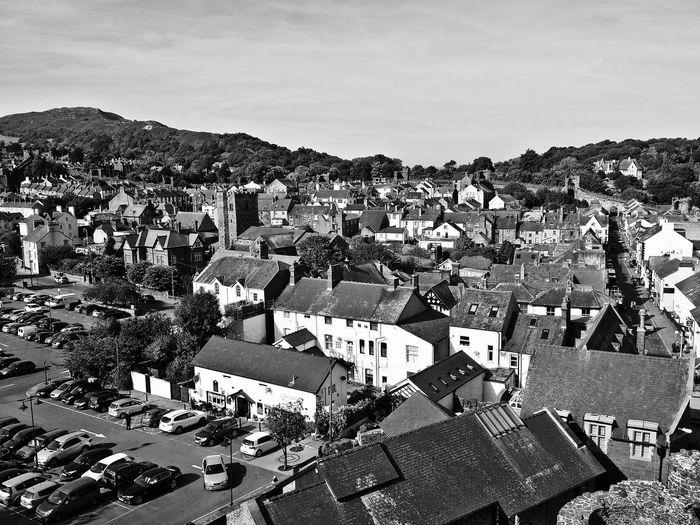 High Angle View Of Llandudno, Wales