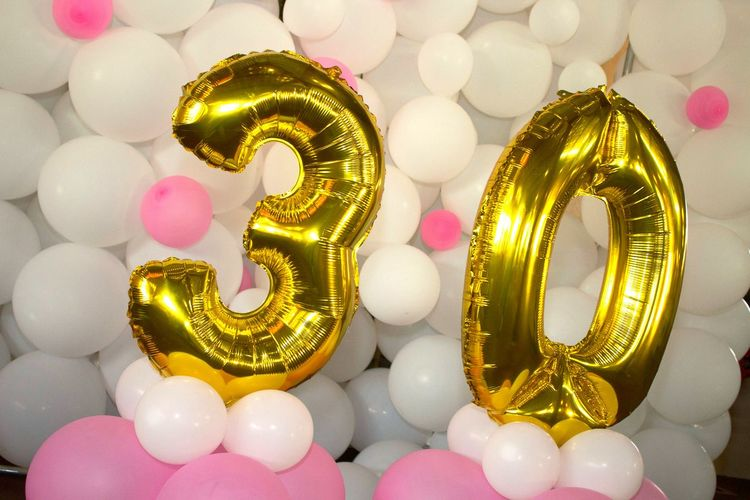 30 30 Years Bubble Birthday Party Party Time Happy Fun Close-up No People Day Light