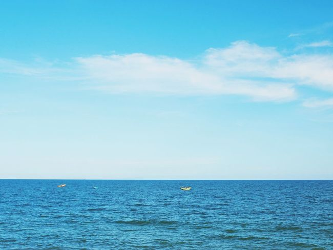 Sea Blue Horizon Over Water Scenics Sky Outdoors Water Beauty In Nature Tranquility Tranquil Scene Day Rippled Nature Cloud - Sky No People Beach Summer Vacations Horizon Sailing Phan Thiet, Viet Nam MuiNePhanThiet Muine, Vietnam  Sommergefühle