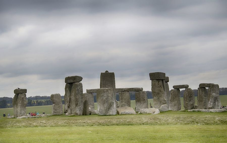 Stonehenge Memorial Ancient Ancient Civilization Day Grass History Memorial Nature No People Outdoors Sky Stonehenge The Past