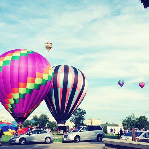 Lexington 4th of July Balloon Rally Enjoying Life