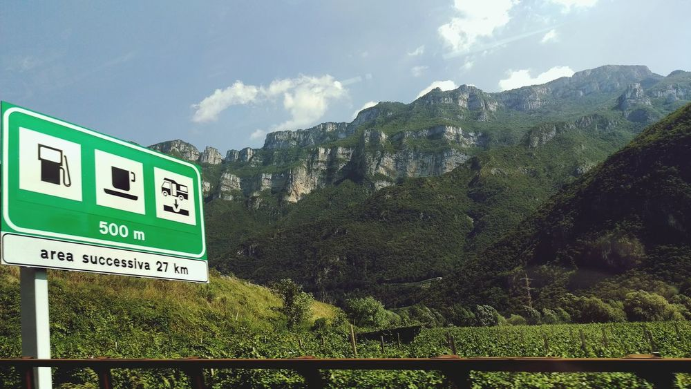 On road Taking Photos Check This Out On Street Landscape Nature Mountains Mountain Alps Italian Alps