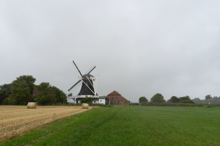 Environment Wind Turbine Wind Power Environmental Conservation Fuel And Power Generation Turbine Landscape Field Land Rural Scene Renewable Energy Plant Alternative Energy Grass Agriculture Sky Nature Farm Traditional Windmill No People Outdoors
