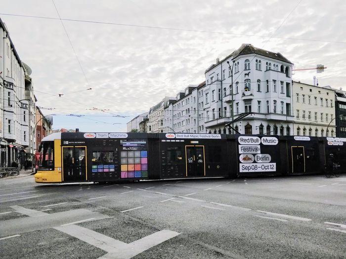 Tram Machines City Architecture Building Exterior Built Structure