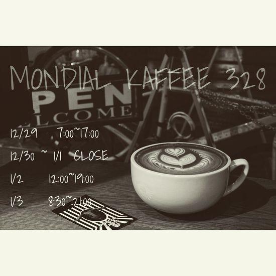 Cafe Time 北堀江 大阪 Mondial Kaffee 328 Latteart 12oz Cafelatte Coffee Espresso