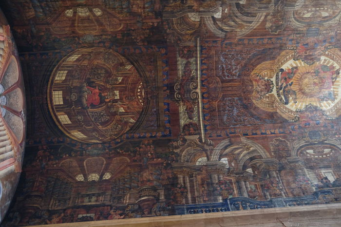 Painted Wooden Roof, Saint John Evangelist Jesuit Church (built 1624 - 1640), Praca do Municipio Church Composition Funchal Madeira Madeira Island Painted Ceiling Painted Wooden Planks Place Of Worship Portugal Spirituality Tourist Attraction  Wooden Ceiling Built Structure Close-up Full Frame Indoor Photography Multi Coloured No People Painting Place Of Prayer Praça Do Município Religion Tourism Travel Destination Unusal