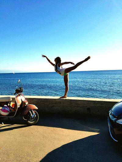 Ballerina on