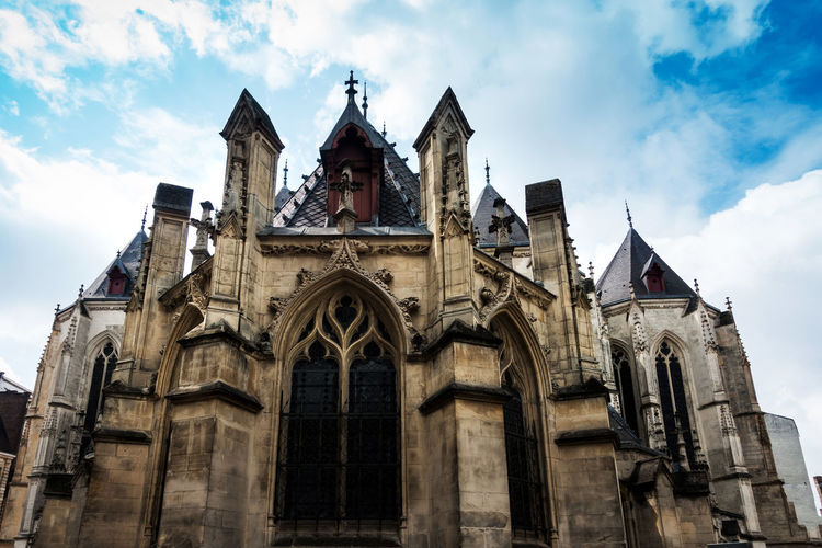 Architecture Building Exterior Built Structure Cloud - Sky Day Façade History Low Angle View No People Outdoors Place Of Worship Religion Sky Spirituality Travel Destinations