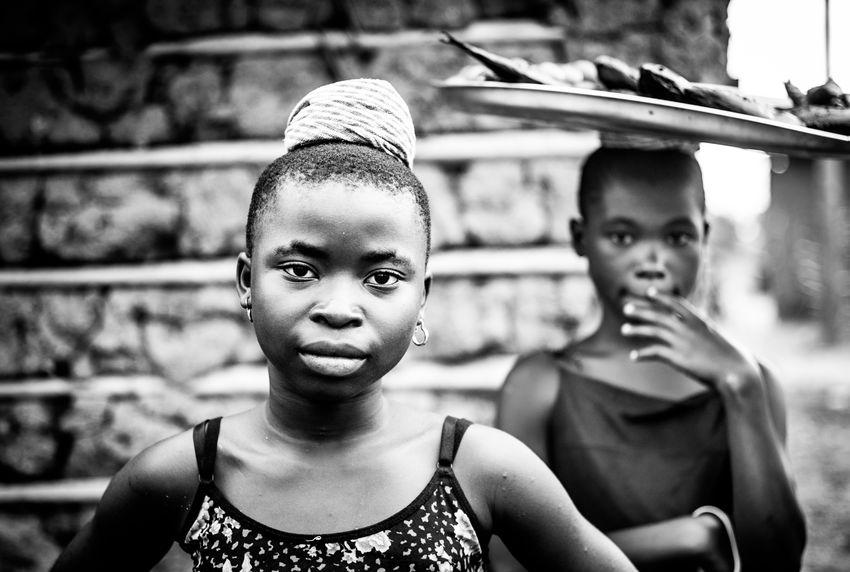 Child Labour Documentary Photography Ghana Ghana360 Inner Power Tamale The Week on EyeEm Africa Day To Day Countryside Documentary Eyeem Monochrome Females Fish Monger Girls Hardship Inner Strength Portrait Portrait Photography Reportage Togetherness