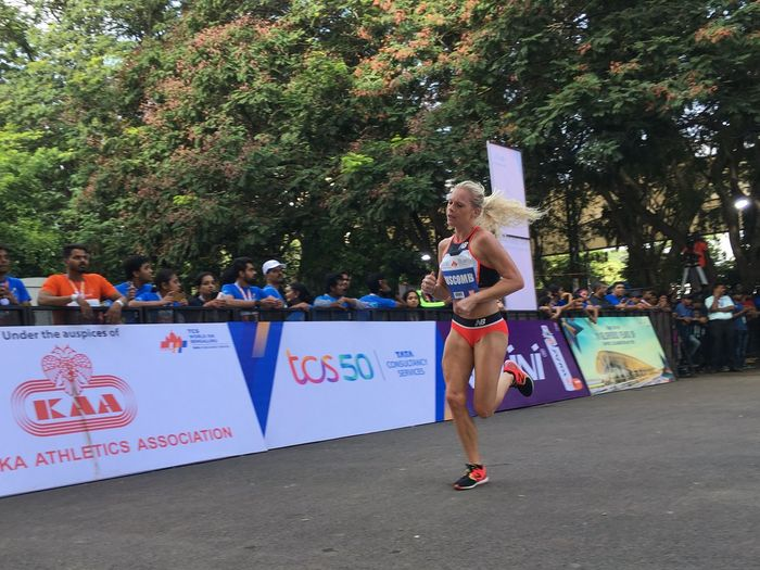 Camille Buscomb Athlete Female Runner TCSW10K Runner Marathon Buscomb Real People