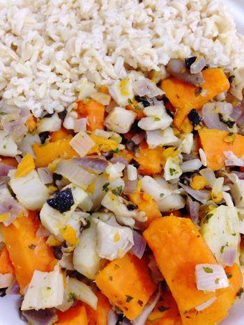 Rice Sweet Potato Vegetables Vegan Food Vegetarian Food 365 Photos In 2015 Oyster Mushrooms POV