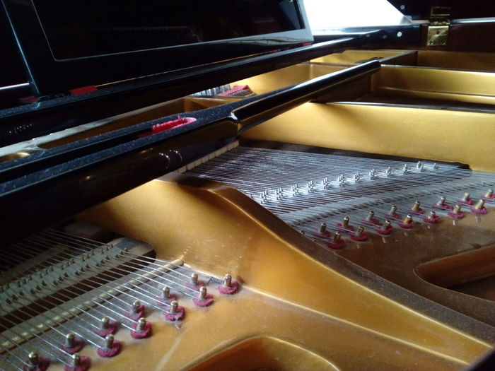 Piano Piano Parts Piano Time Piano Keys Pianoforte Piano Insides INDONESIA Indoors  High Angle View In A Row Music Technology No People Close-up Day