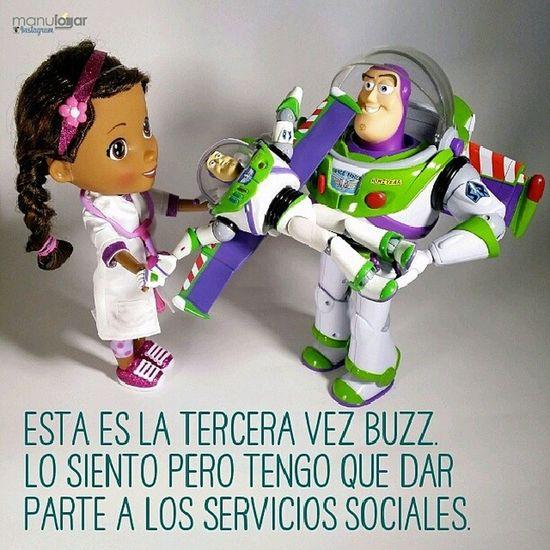 Como son las cosas II. Manulogar @manulogar Design Graphicsarts Graphic quote toy juguete toystory instatoy funny divertido pixar dad beautiful fly doctor actionfugures