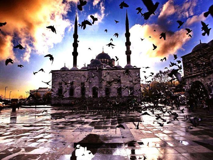 Mosque Eminönü Boshphorus Clouds And Sky Cloudporn Cloud_collection  Sun_collection, Sky_collection, Cloudporn, Skyporn OpenEdit Islamic Photooftheday ???