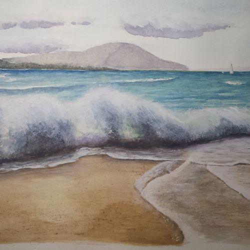 Sea Watercolour