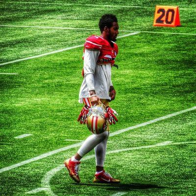 NFL Niners Ninerfan Ninerempire 49ers 49ersfan 49erempire 49erfaithful 49erfans goldblooded goniners 9ers 9ersfan the_niner_empire nfltrainingcamp 49erstrainingcamp sf49ers sanfrancisco49ers dontaejohnson cornerback rookie 36