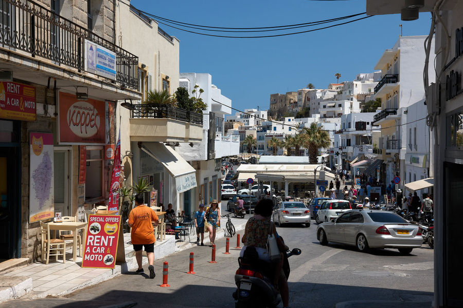 Naxos Town Architecture Building Exterior Built Structure Car City City Life City Street Group Of People Land Vehicle Men Mode Of Transportation Motor Vehicle Nature Outdoors People Real People Road Sign Street Transportation Women